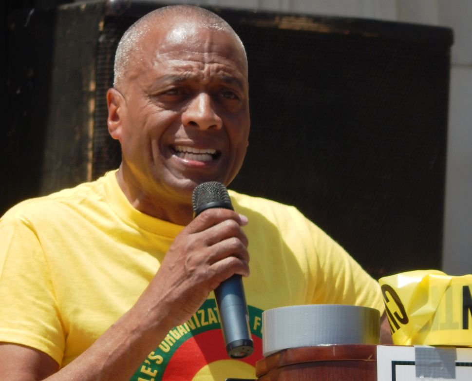 'Stop Killing us': POP Chairman Hamm Leads March Against Police Brutality