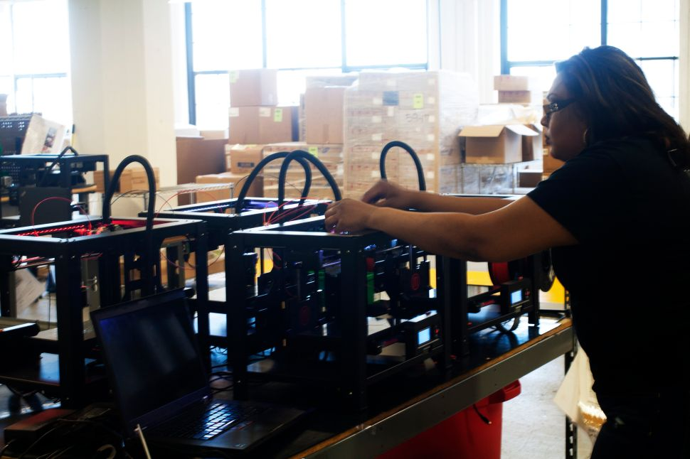 MakerBot Is Laying Off 20 Percent of Its Staff