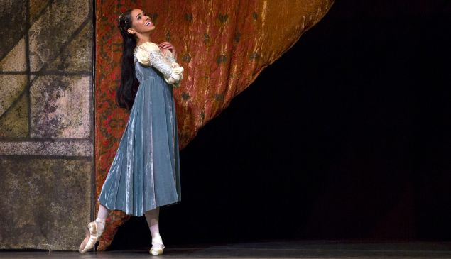 Misty Copeland in Romeo and Juliet. (Photo: Rosalie O'Connor)
