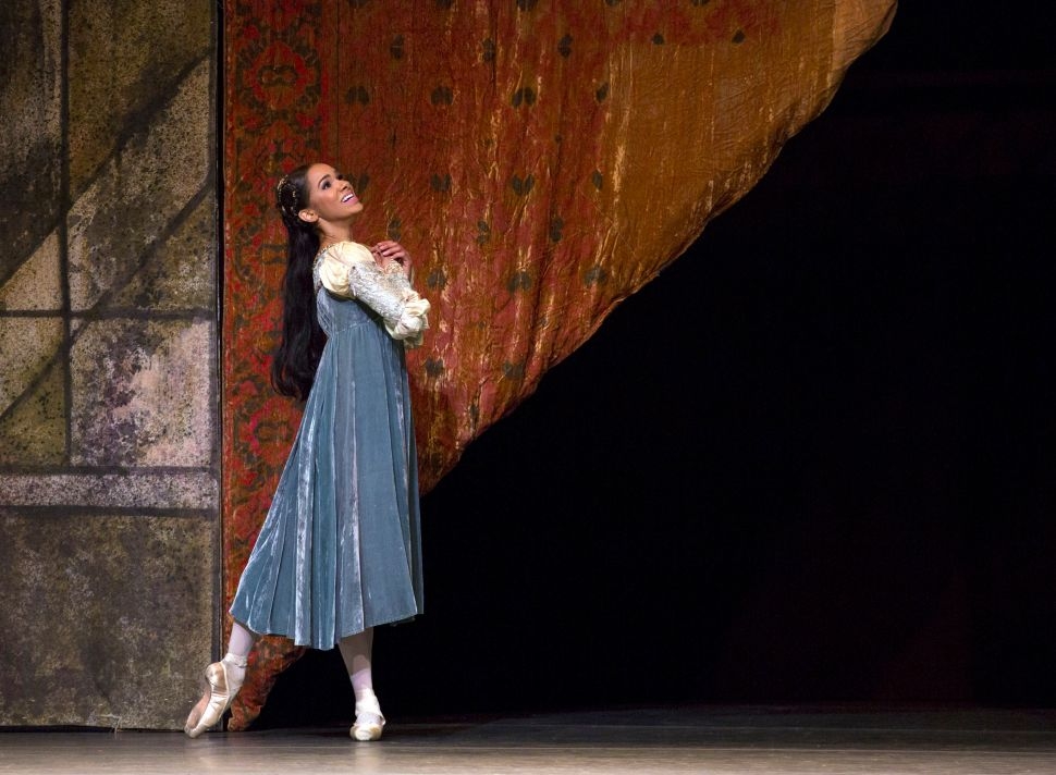 A Promotion at ABT Takes Center Stage
