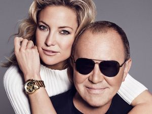 Mr. Kors and Ms. Hudson as a hunger-fighting duo (Photo courtesy of Michael Kors)