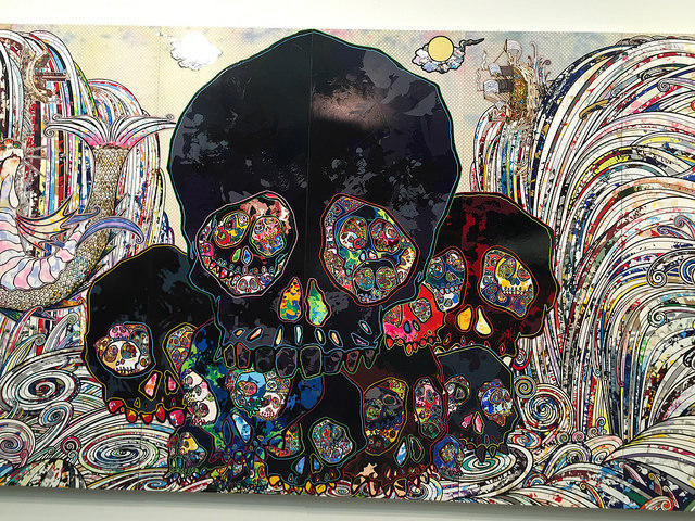 82-Foot Murakami Among Works Now Being Hung at LA's New Broad Museum