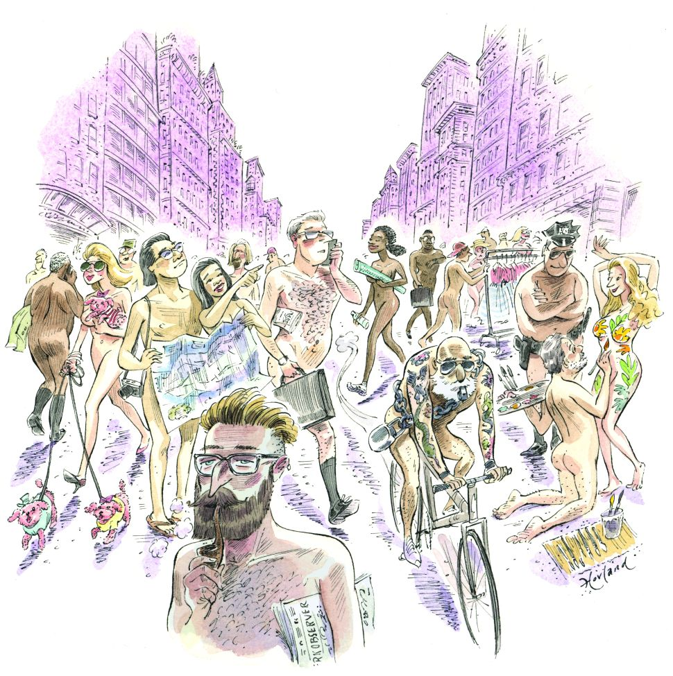 Naked in New York: Why More of Us Are Taking It All Off
