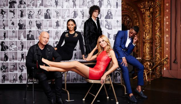 The judge panel of America's Got Talent. (NBC)