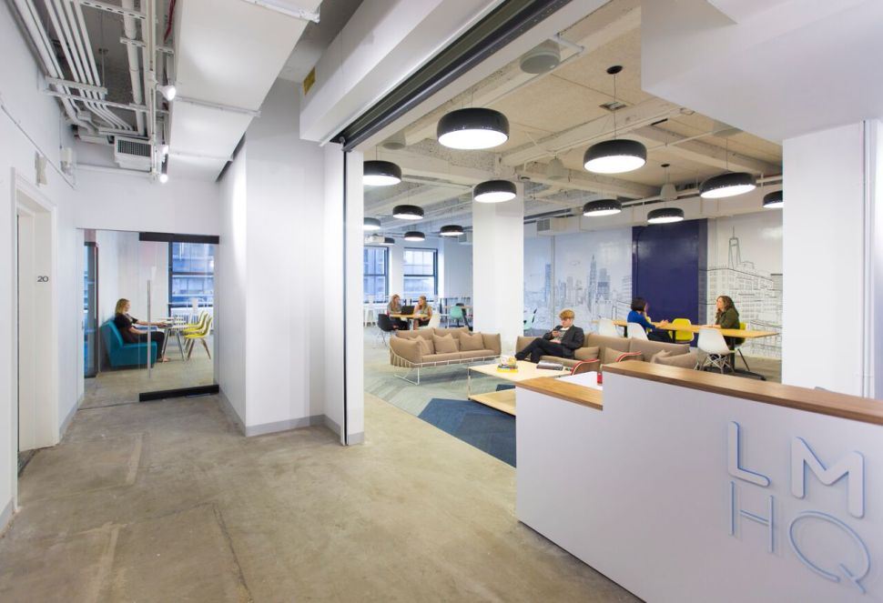 Collaborative Work Hub for Tech and Media Opens in Lower Manhattan