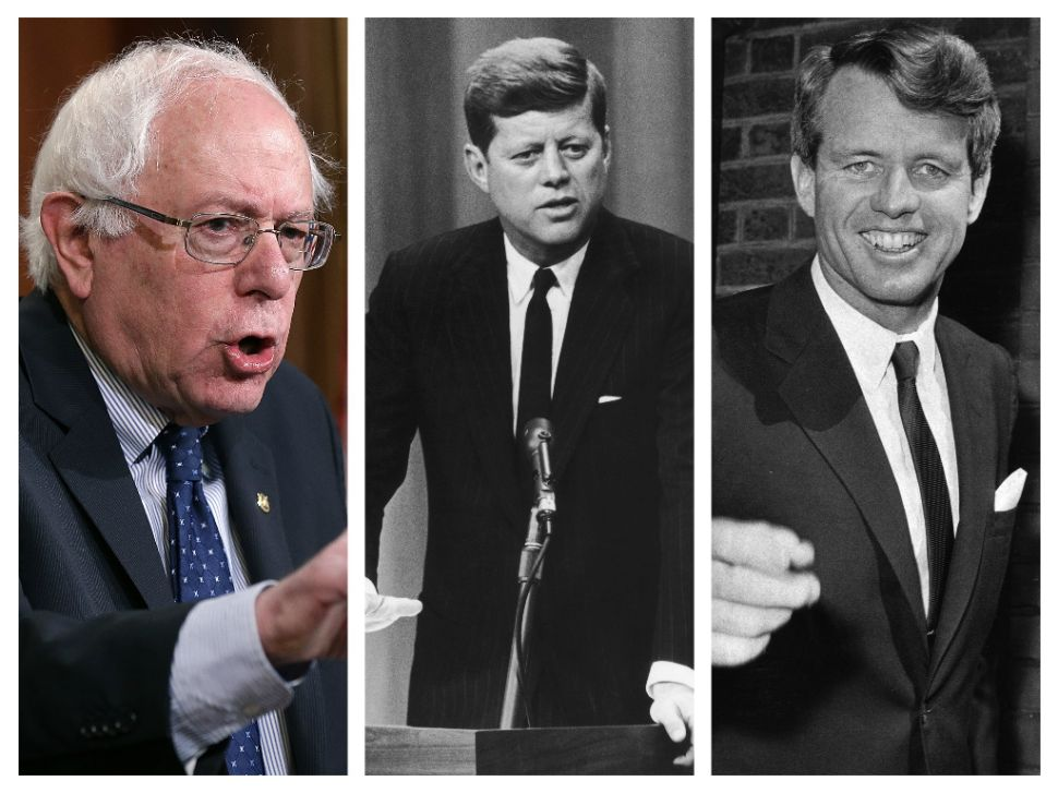 Bernie Sanders' Amazing Parallels to John F. Kennedy and Robert F. Kennedy