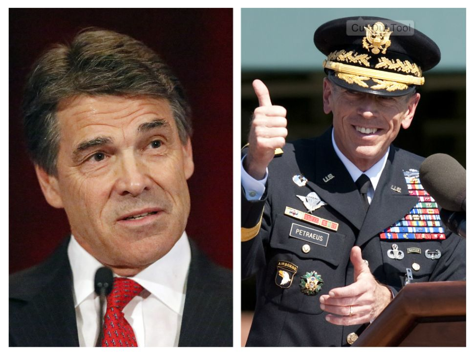 Rick Perry and David Petraeus: The Rise of the North American Century