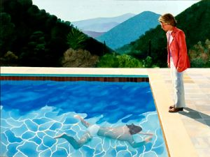 Portrait of an Artist (Pool with two figures), 1972 (Photo: Courtesy the artist's website).