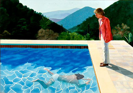 Happy Birthday David Hockney! Discover the Artist's LA Pool Paintings