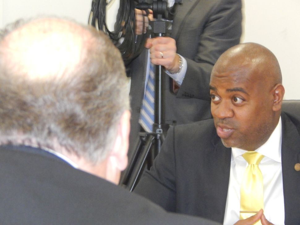 After Clashing with Rice in Trenton, Sweeney Takes a Victory Lap in Newark