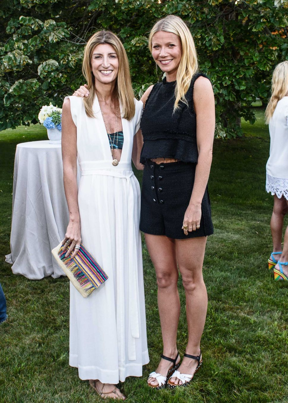 Gwyneth Paltrow's Hamptons Goop Dinner Was Exactly What You'd Expect