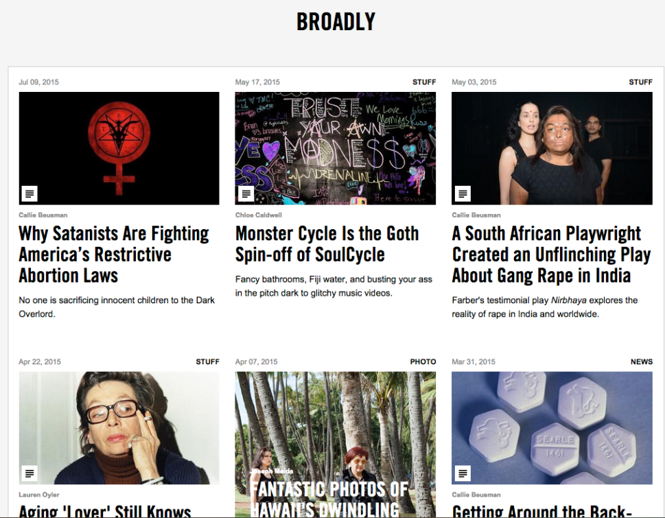 Vice Soft Launched Their New Female-Focused Channel 'Broadly'