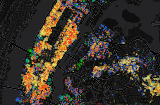 New Map Shows the Decline of the City's Rent-Stabilized Apartments