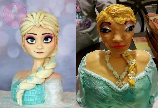 Charity Behind Viral 'Frozen' Cake Fail Turned the Mishap Into an Awesome Fundraiser