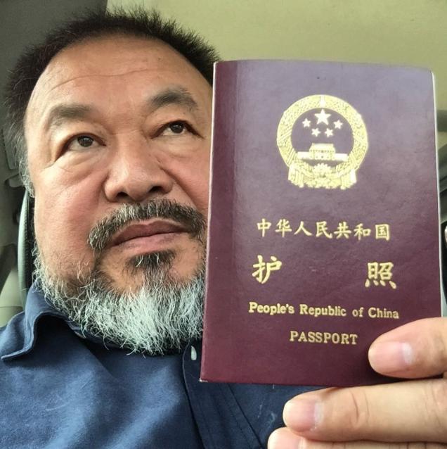China Returns Passport to Dissident Icon Ai Weiwei