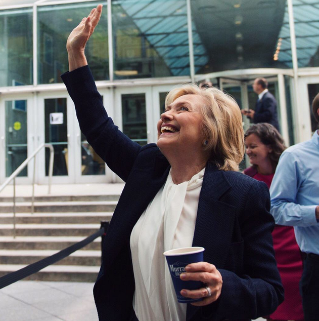 Hillary Clinton's Instagram Looks Just Like Yours and Mine—Brunch Photos and All