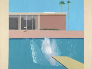 A Bigger Splash, 1967 by David Hockney (Photo: Courtesy the artist's website).