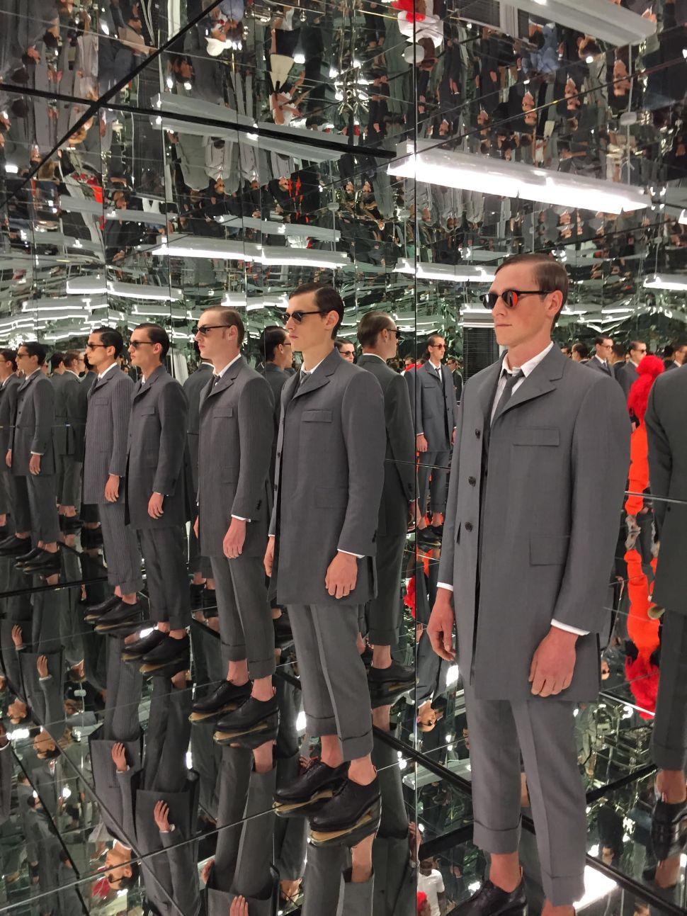 Public School Vs. Thom Browne: Battle of the Fashion Week Sets