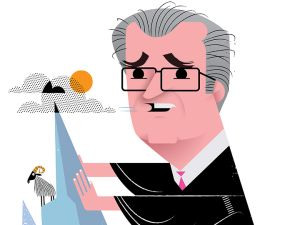 Chief Judge Jonathan Lippman (Illustration: Kirsten Ulve)