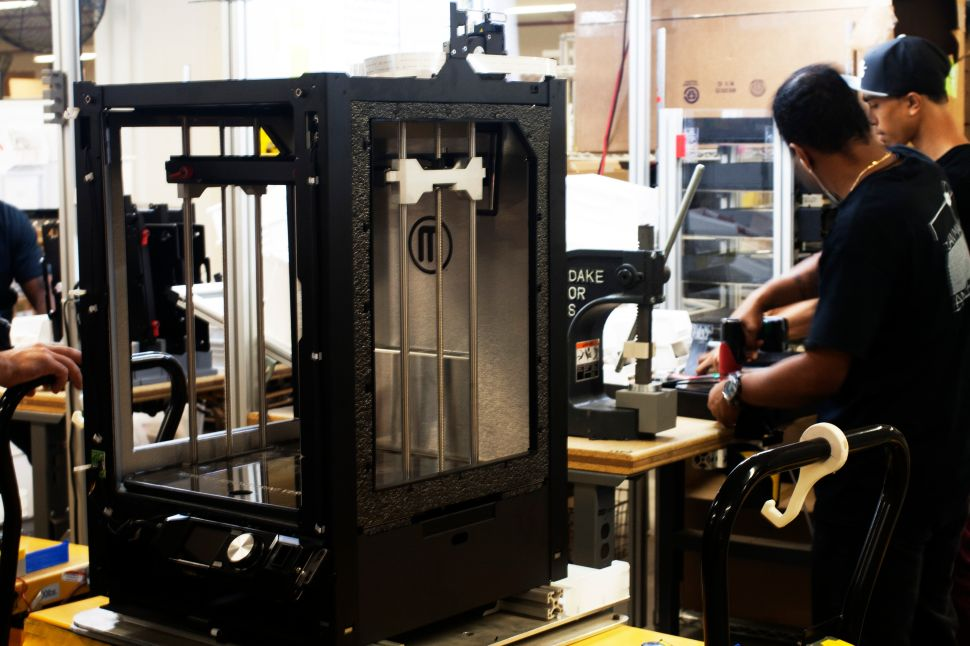 How Makerbot Organizes Its Brooklyn Factory's Floor