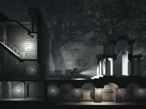A screenshot of Calvino Noir, a new adventure game for iPhone and iPad. (Photo: Calvino Noir)