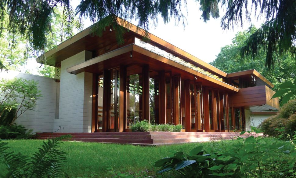 Frank Lloyd Wright House Relocated From NJ Will Open in Crystal Bridges, Ark.