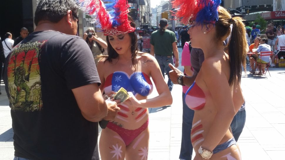 Topless Women Are Bringing Back the 'Bad Old Times Square,' Cuomo Says