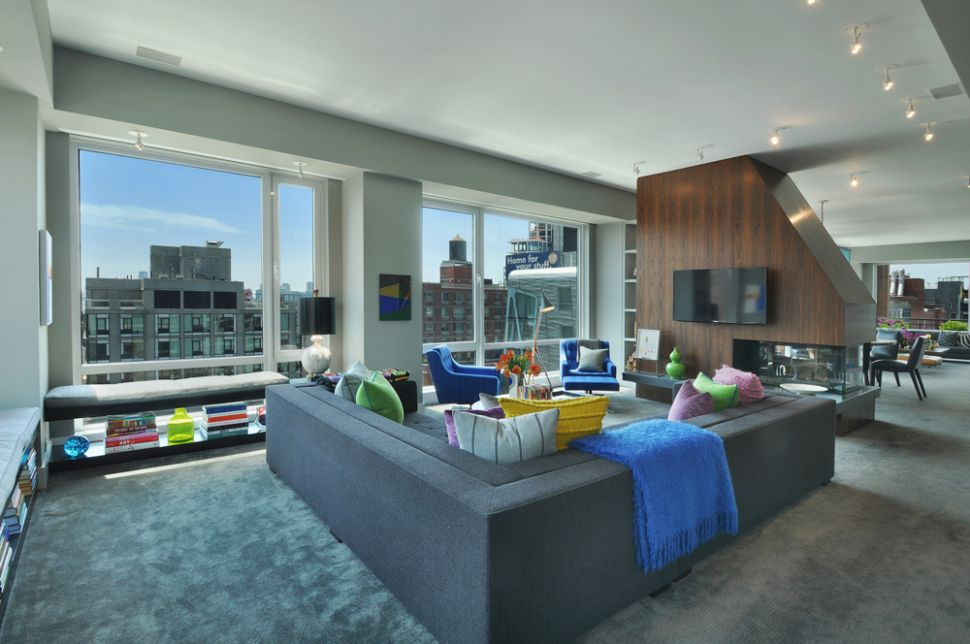 A $8.35M West Chelsea Penthouse Where the Welcome Is as Pronounced as the Wow