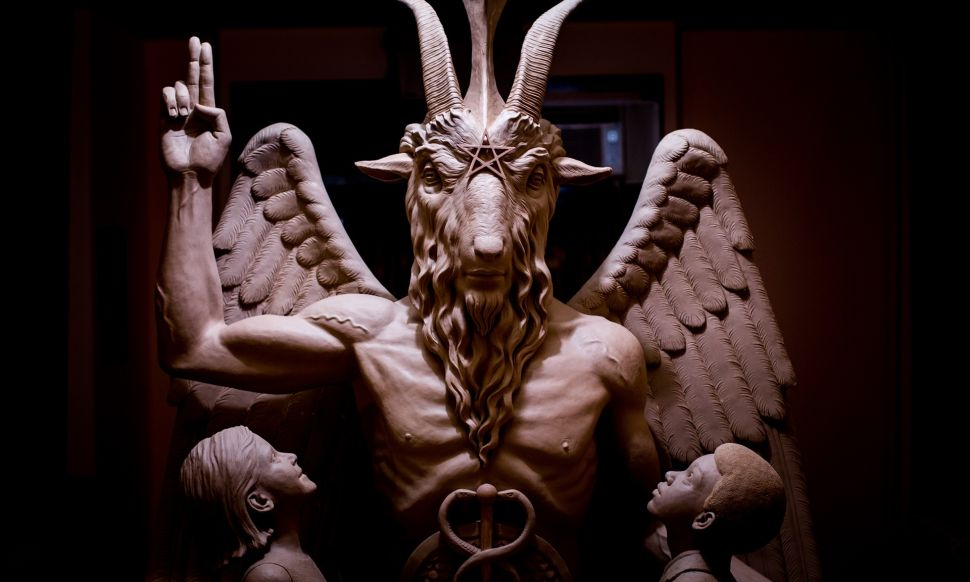 Sculpting Satan: A Chat With America's Most Controversial Artist