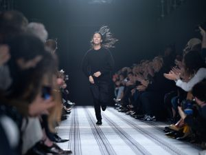 Alexander Wang walks the runway after the Balenciaga show as part of the Paris Fashion Week (Photo by Pascal Le Segretain/Getty Images)