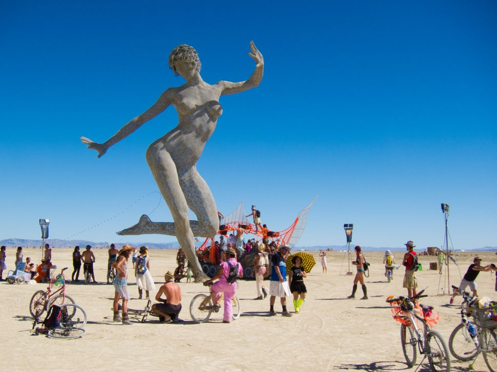 $7 Billion Is Being Crowdfunded to Wall Burning Man Attendees Out of San Francisco