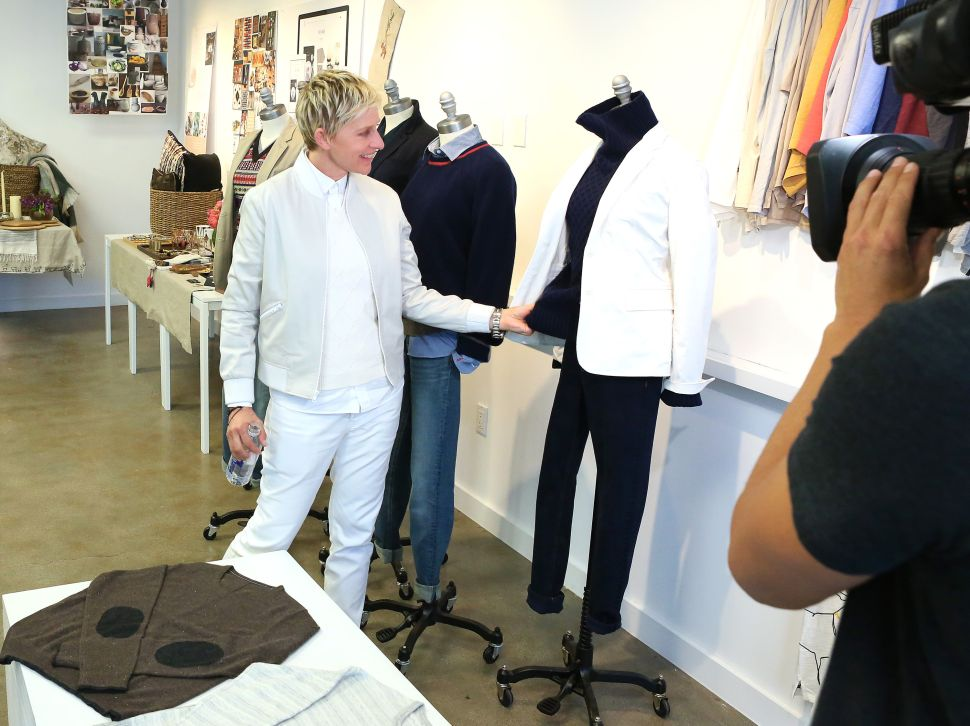 Ellen Degeneres and Bergdorf Goodman Are the Most Unlikely Pair in Fashion