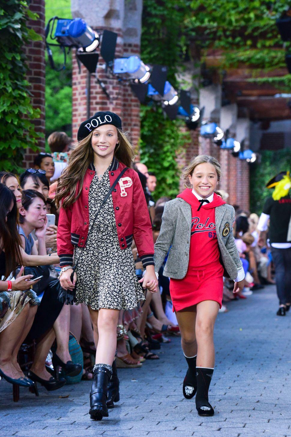 Child Stars Walk the Runway at Ralph Lauren Kids' Fashion Show