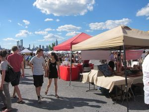 Smorgasburg on a summer day. (Bex Walton/flickr.)