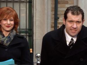 Julie Klausner and Billy Eichner. (Hulu)