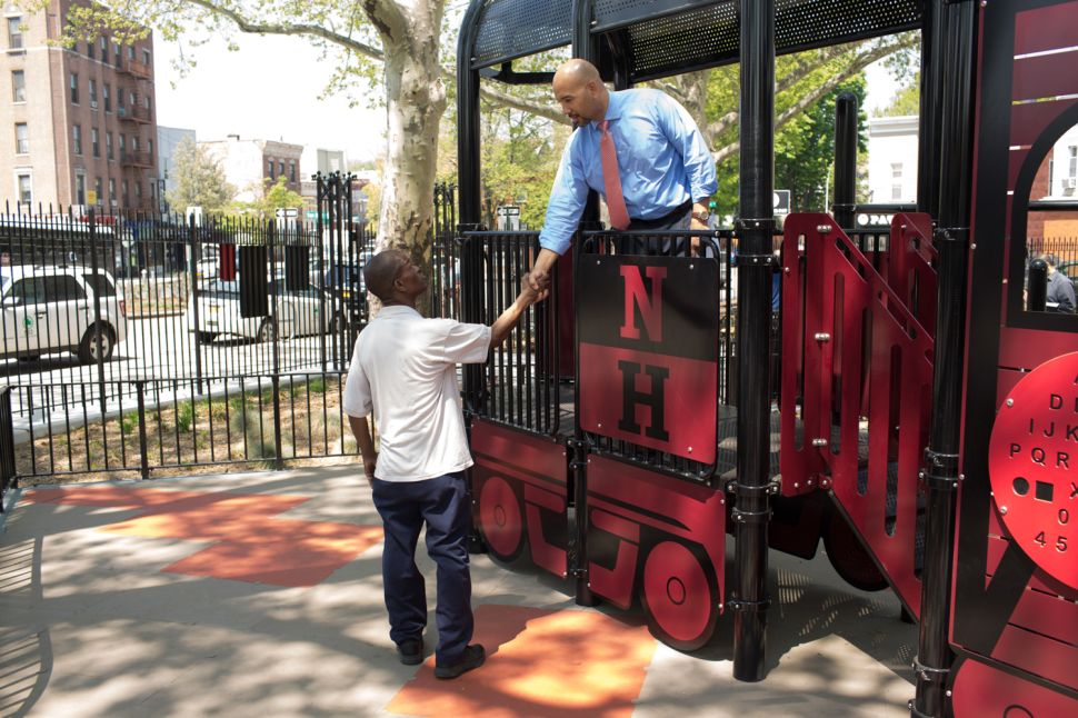 Bronx Borough President Rips NYCHA Chair's Plan for Housing on Green Space