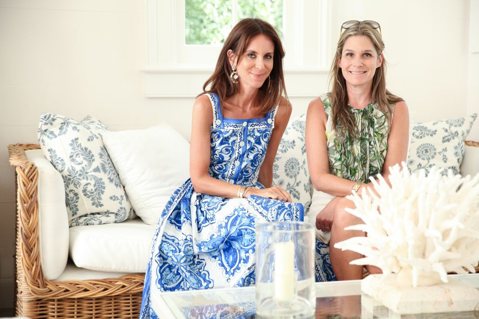 Aerin Lauder and Net-A-Porter Throw Party at Estée Lauder's Old Hamptons Home