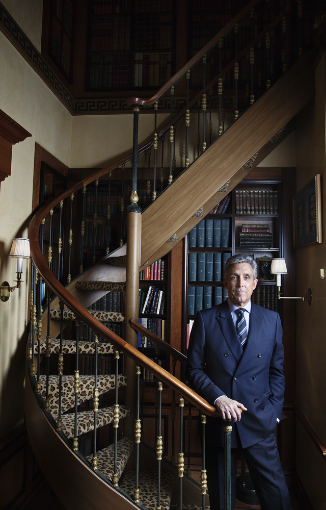 At Home With the D & D's Real Estate Magnate Charles Cohen
