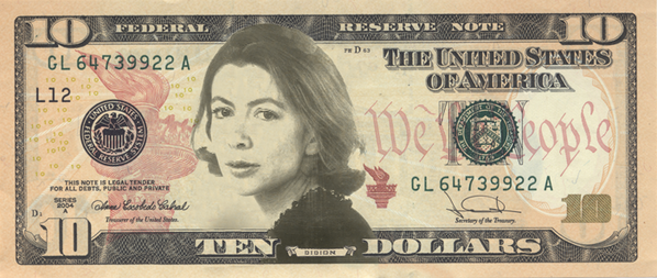 #JoanOnTheTen: LA Bookstore Campaigns to Make Joan Didion Face of $10 Bill