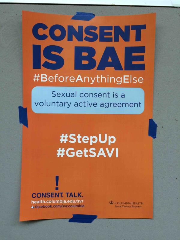 Columbia's New 'Consent Is Bae' Campaign Seeing Backlash for Trivializing Consent