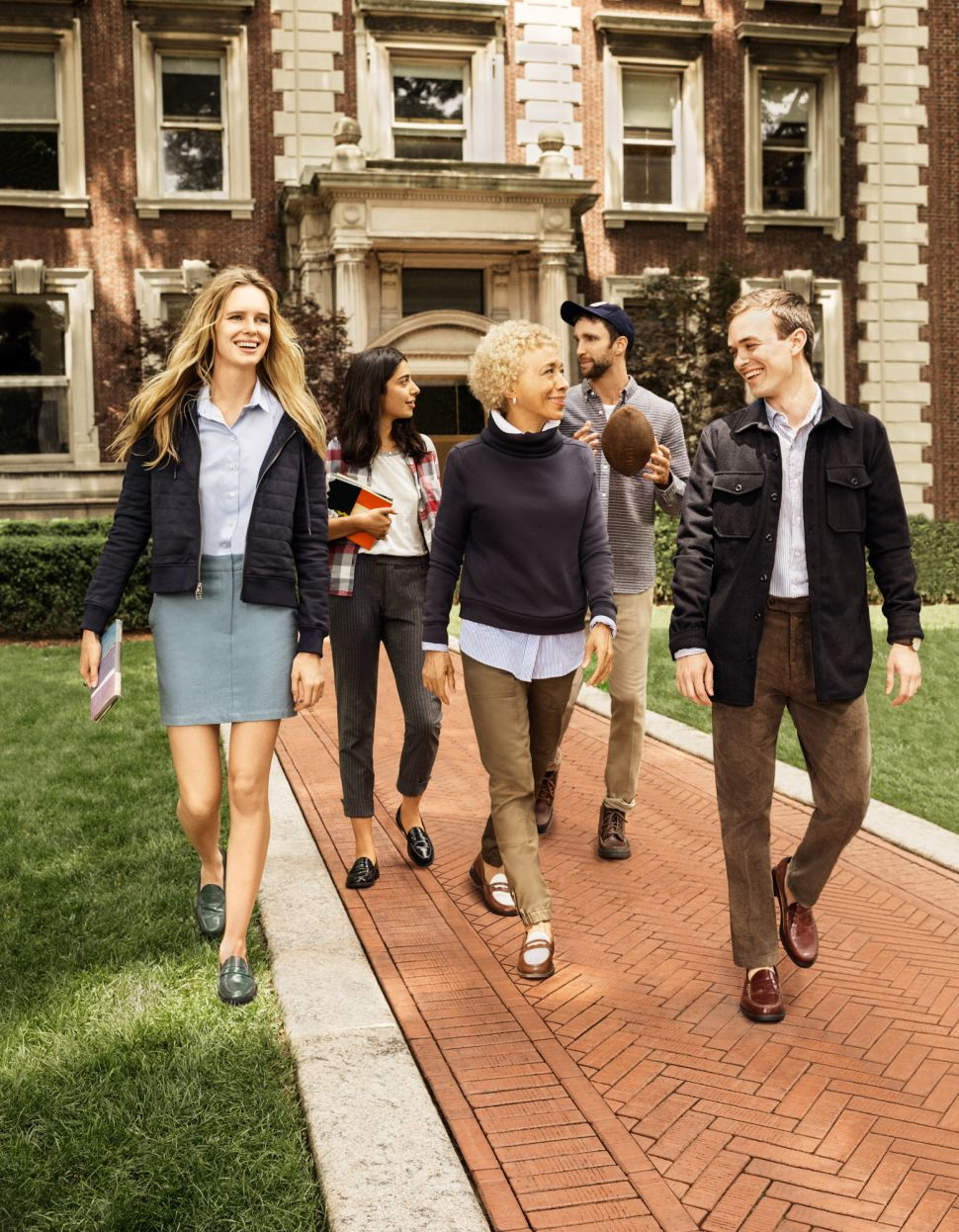 Cole Haan's Fall Ad Forgoes Real Models in Favor of Academics