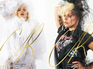 Lady Gaga on the September cover of CR Fashion Book. (Photo: CR Fashion Book/Bruce Weber)