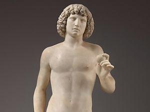 Tullio Lombardo, Adam, (ca. 1490–95). (Photo: The Met)