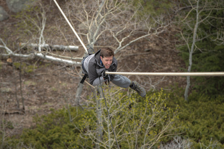 'Running Wild' Recap: Ed Helms, a Comedian Afraid of Heights, Dangles Off Mountains