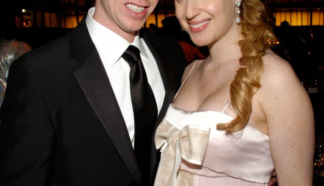 The ex-couple in happier times. (Patrick McMullan)