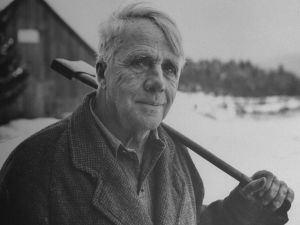 Robert Frost affected a rustic charm but was more urbane than he let on. (Photo: Getty Images)