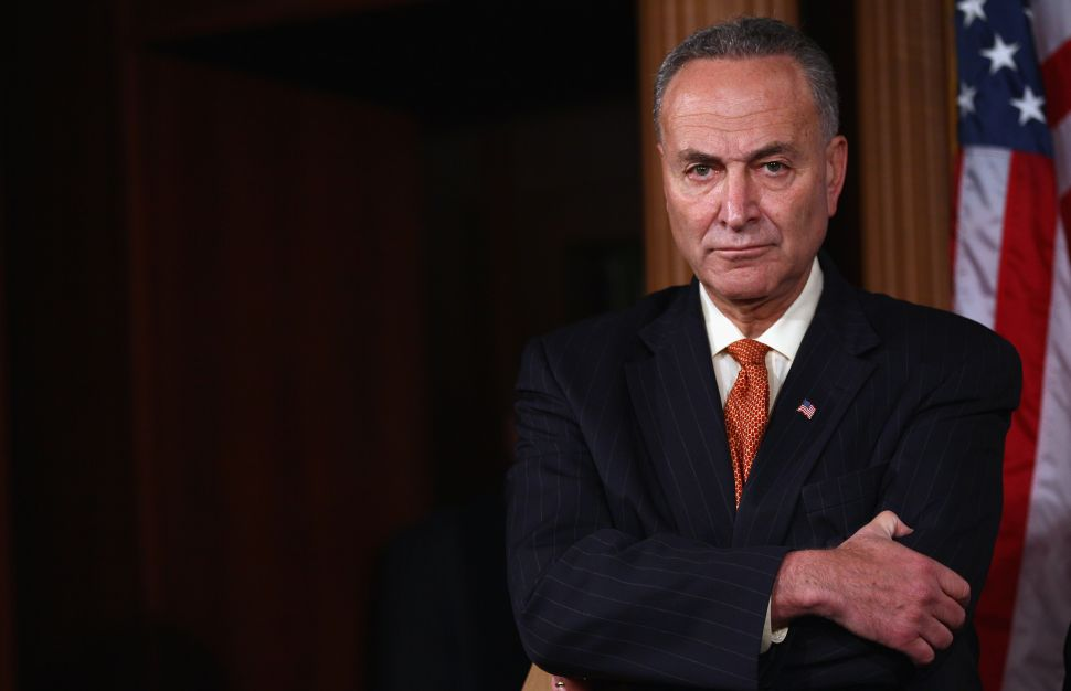An Open Letter to Senator Schumer
