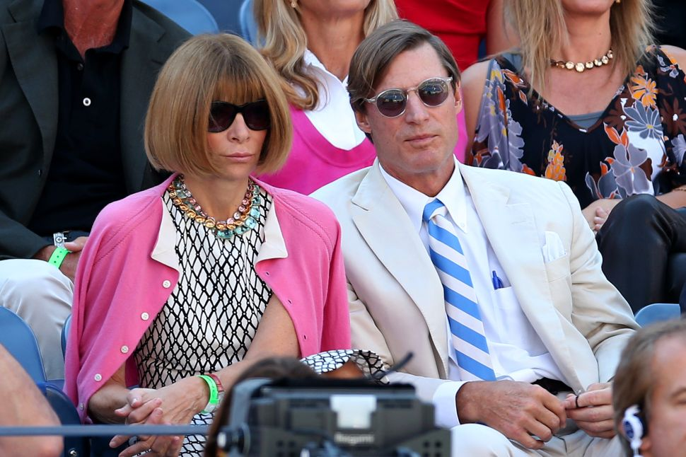 A Decade of Anna Wintour's Tennis Tournament Outfits