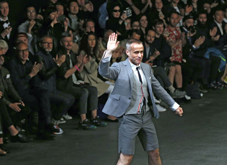 Designer Thom Browne Is Working on One Less Project