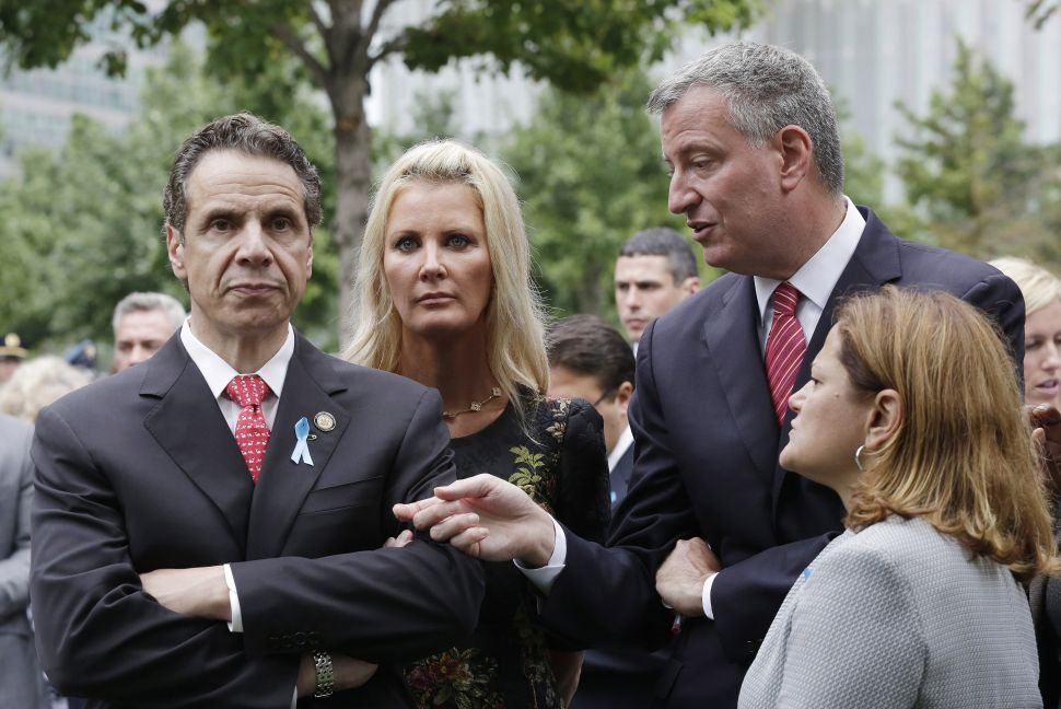 Cuomo, de Blasio and Mark-Viverito Announce 'Joint' Regulations for Legionella